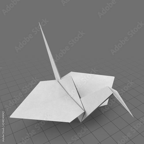 how to make paper cranes   Origami paper crane, Origami crane ...   500x500