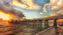 Coastal Dreams With Old Naples Pier, Florida