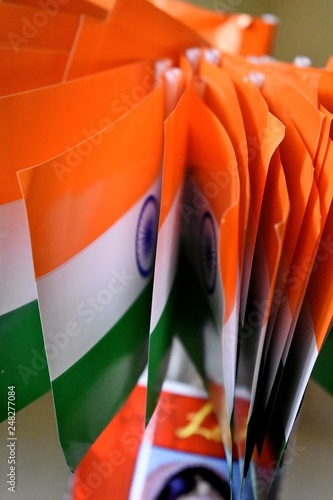 Fotografia  National flag of India