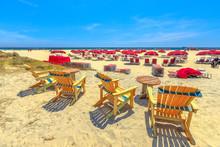 Sea Chairs In Coronado Beach A...