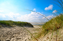 Dune Beach On The North Sea Is...