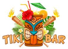 Emblem Of Tiki Bar
