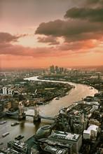 Ausblick über London