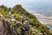 Sanhuang Basilica On The Top O...