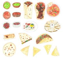 Mexican Food Set 15