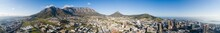 Panoramic Aerial View Over The...