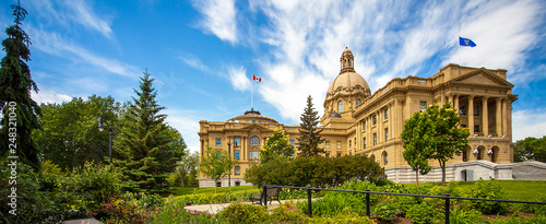Photo  Alberta Legislature Building Edmonton Alberta Canada