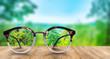 canvas print picture -  Durchsicht Clear Vision Klarsicht