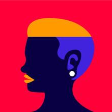 Side Head Woman