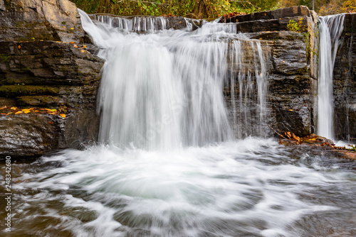 Natural Dam Waterfall