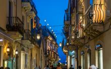The Beautiful Taormina In A Su...