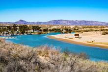 The Colorado River Flowing Thr...