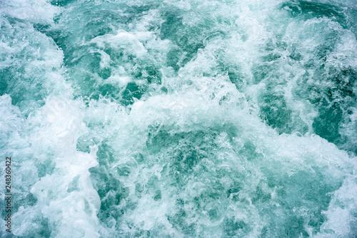 Foto auf Gartenposter Wasser Water wave