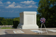 Grave Unknown Soldier Arlington National Cemetery Washington USA