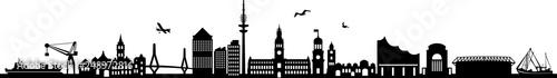 Fotografía  Hamburg City Skyline