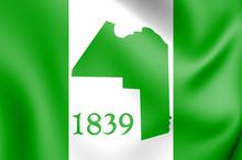 3D Flag Of Aroostook County (M...