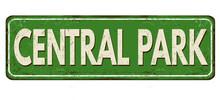 Central Park Vintage Rusty Met...