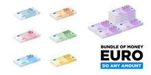 Euro Money Isometric And Minim...