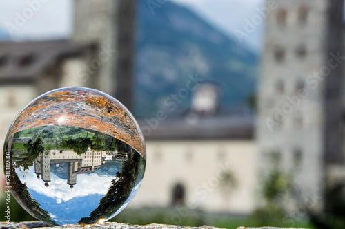 Fotografia Stockalperschloss, Brig, Schweiz