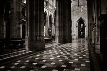 Interior View Of St. Vitus Cathedral