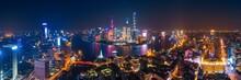 Shanghai Pudong Aerial Night V...
