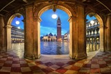 Piazza San Marco hallway night view