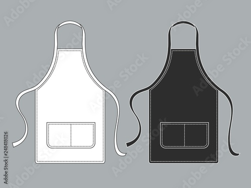 Canvastavla Chef apron