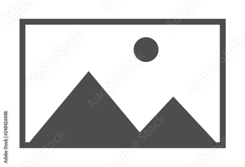 Fotomural  No image vector symbol, missing available icon