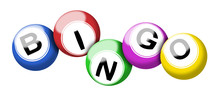 Colorful Bingo Balls Illustrat...