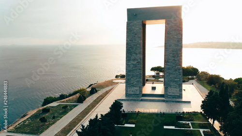 Pinturas sobre lienzo  57th Infantry Regiment - Turkish memorial and cementery