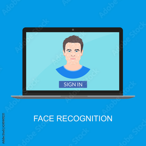 Photo  Face recognition technology