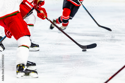 Photo  Ice hockey sport indoor stadium game
