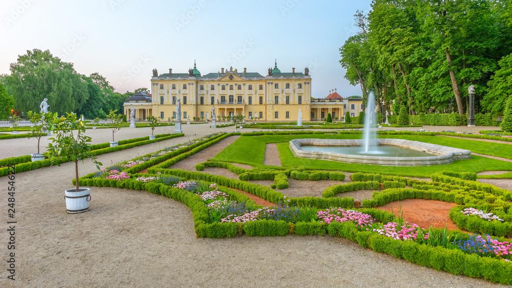 Fototapety, obrazy: Ogród w Pałacu Branickich, Białystok, Polska