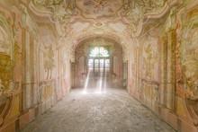 Painted Hall With Sunbeam