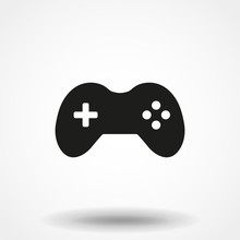 Joystick Icon Vector, Game Sym...