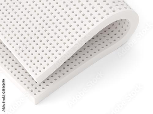 Valokuvatapetti Natural para latex rubber material perforated sheet