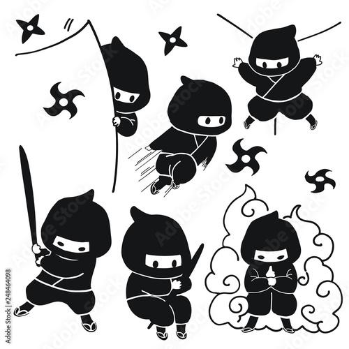 Stampa su Tela ninja