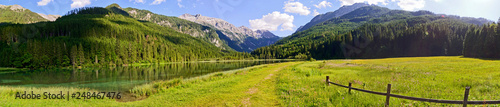 Fotografie, Obraz Lake Jägersee, Kleinartal, Salzburg, Austria