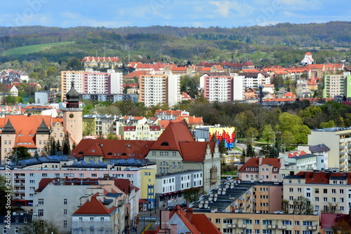 Fototapeta panorama miasta Elbląg, Polska obraz
