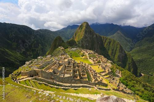Fotografie, Obraz  Inca citadel Machu Picchu in Peru