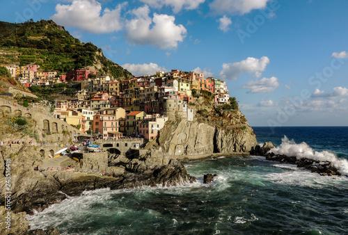 Photo  Vernazza harbor