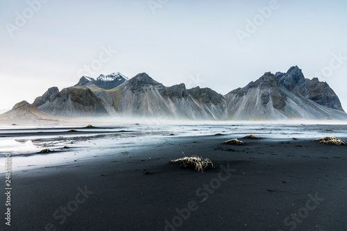 Photo Paisaje en la playa en Islandia