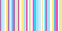 Stripe Pattern. Colored Background. Seamless Abstract Texture With Many Lines. Geometric Colorful Wallpaper With Stripes. Print For Flyers, Shirts And Textiles. Striped Backdrop. Doodle For Design