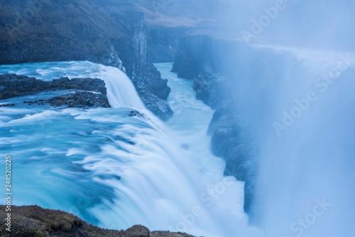 Foto auf Gartenposter Antarktika Cascadas en Islandia