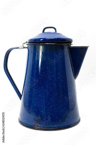 Fotografie, Obraz  Vintage Granite Ware Coffee Pot