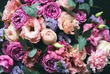 Beautiful Pink And Purple Peon...