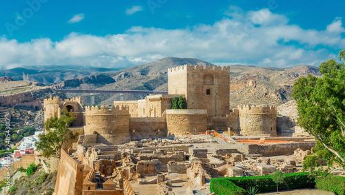 Medieval castle Alcazaba of Almeria