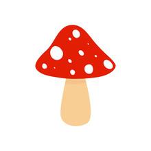 Amanita. Mushroom. Dangerous M...
