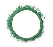 Round Frame Made Of Spirulina ...