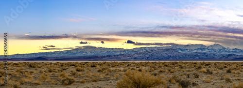 Fotografia, Obraz  White Mountains Painted Sky Sunset Nevada